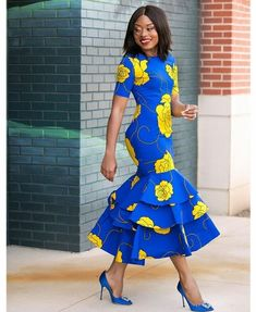African women fashion dress/ African prints long dress/African women wedding outfit/ Ankara dress/Af - All About African Party Dresses, Latest African Fashion Dresses, African Print Dresses, African Print Fashion, Africa Fashion, Women's Fashion Dresses, Fashion Prints, African Prints, African Dress Styles
