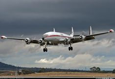 Lockheed Super Constellation Aesthetically one of the most beautiful aircraft ever designed Commercial Plane, Commercial Aircraft, Airplane Photography, Passenger Aircraft, Civil Aviation, Aviation Art, Vintage Airplanes, Aircraft Pictures, Air Travel