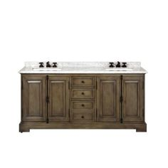 Wyndham Collection Sheffield 80 in. Double Vanity in White with Marble Vanity Top in Carrara White-WCS141480DWHCMUNSMXX - The Home Depot