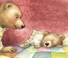 Hush Little Baby - Petra Brown, Children's Book Illustrator
