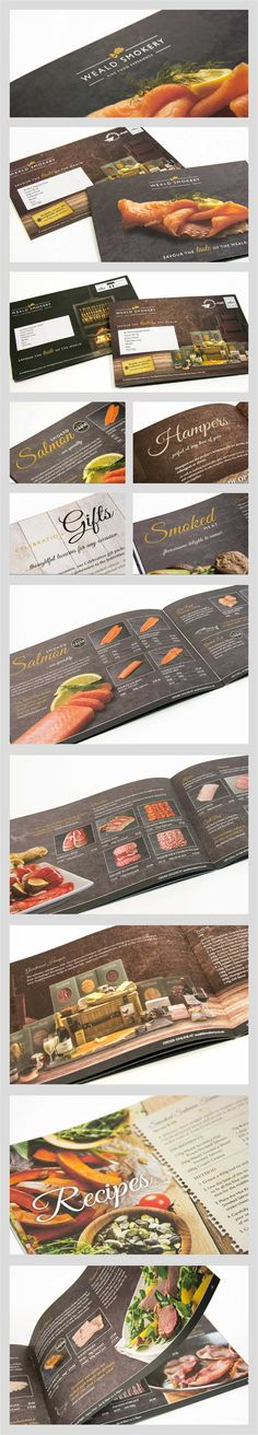 A key piece of marketing collateral for a local fine food company with a national customer base. Mail Marketing, Marketing Ideas, Solo Ads, Direct Mail, Catalog Design, Photo Book, Create, Parma, Brochures