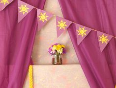 Rapunzel/Tangled Birthday Party with an ART theme!