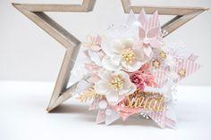 Crafty by AgnieszkaBe: I-Kropka I Card, Crafty, Christmas, Artificial Flowers, Xmas, Weihnachten, Yule, Jul, Noel