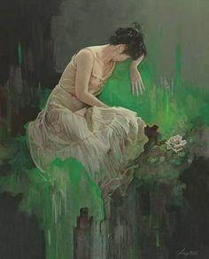 Painting by Roberto Liang
