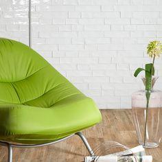 Tiling Inspiration: Beaumont Tiles' Argila White Better Than Vintage handmade-look subway tile for indoor styling Beaumont Tiles, Tile Inspiration, Tiles, Powder Room Decor, Tile Trends, Wall And Floor Tiles, White Subway Tiles, Textured Subway Tile, Room