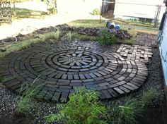 Creative Endeavors: Brick Patio Tutorial