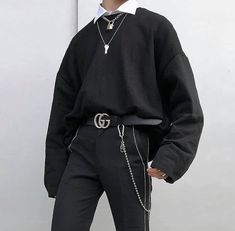 Fashion / Street style / Streetwear / Sneakers / Pop culture - New Site Edgy Outfits, Mode Outfits, Retro Outfits, Grunge Outfits, Grunge Fashion, Boy Fashion, Fashion Outfits, Trendy Fashion, Sneakers Fashion