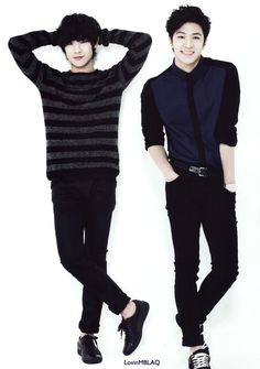 Lee Joon & Thunder. Preference of Mr. Right (side)