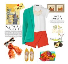 """""""Dreams are always colored.."""" by gul07 ❤ liked on Polyvore featuring WALL, MANGO, Vanessa Bruno, Cynthia Rowley, Izabel London, Jigsaw, The Row, Big Fish and Marc by Marc Jacobs"""