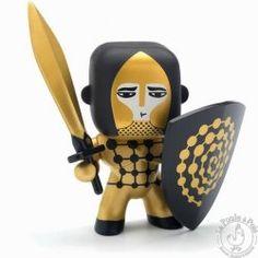 Figurine chevalier Arty Toys Golden knight - Djeco
