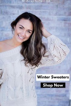 We offer adorable boho sweater options to update your wardrobe with this winter! These boho chic sweaters are the perfect addition to your closet. Pair with leggings for a fashionable casual outfit or dress up with jeans and boots! Uni Fashion, Boho Fashion Winter, Curvy Fashion, Fashion Outfits, Hippie Fashion, Fashion Group, Womens Fashion, Fashion Trends, Oversized Sweater Outfit