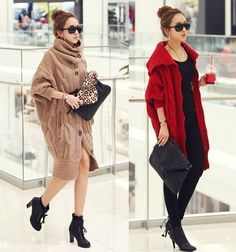 Korean style retro twist coarse knitting long cardigan sweater., $54. #Pre-order#Shipping Worldwide. Want to buy it. Contact us, สนใจสั่งซื้อติดต่อเรา.   Store Website : https://yourstylenina.ecwid.com/  , or ID Line:  yourstylenina , or  FB:  https://www.facebook.com/pages/Your-Style/370344776416837
