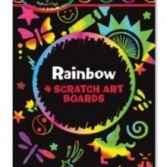 Explore Scratch Art with this Rainbow Scratch Art set of Mini Notes! Featuring 8 mini Scratch Art notes that measures x and a wooden stylus to create your designs. Recommended for ages Rainbow Scratch Art Mini Notes Scratchboard Art, Scratch Art, House Gifts, Rainbow Swirl, Art Activities, Art Boards, Gifts For Kids, Art For Kids