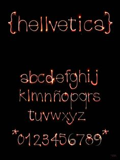 Helvetica Lights - 15 weird and wonderful uses for Helvetica | Typography | Creative Bloq