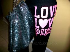 Love this sparkly bag!!