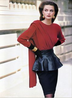 Vintage Vogue from the 80s