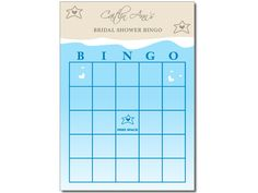 beach themed bridal shower bingo cards by peprmetpat 500 guests fill in blank spots