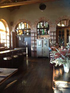 L'interno del ristorante stellato Michelin La Gallina! Il panorama da lì è incantevole