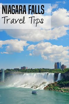 I love these suggestions for how to save money on hotels and attractions in Niagara Falls!