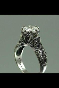 Antique Irish engagement ring