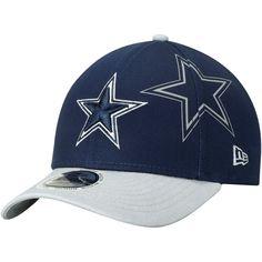 9bc420ef86b Youth Dallas Cowboys New Era Navy Gray Side Flect 9FORTY Adjustable Hat