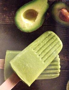 avocado ice pops recipe