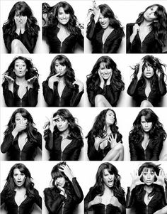 Lea Michele looks Glee-ful in her photo booth photos Pose Portrait, Portrait Photography Poses, Photography Poses Women, Photo Poses, Beauty Portrait, Photography Ideas, Lea Michele, Photographie Portrait Inspiration, Poses References