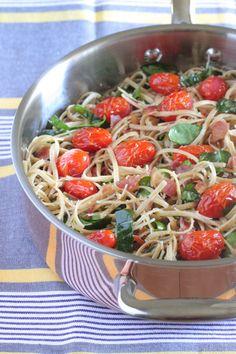 Parmesan BLT Whole Wheat Pasta