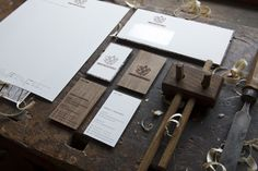 Zimmerei Pensold - Branding & Web Design by Roberto Funke, via Behance
