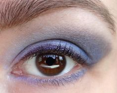 Inner Lid: Oasis Outer Lid: Wasted Time Brow/Highlight: Very Vanilla Liner: Spider Venom Purple Eyeshadow Looks, Mauve Dress, Beauty Junkie, Eye Color, Earthy, Brows, Taupe, Lavender, Venom
