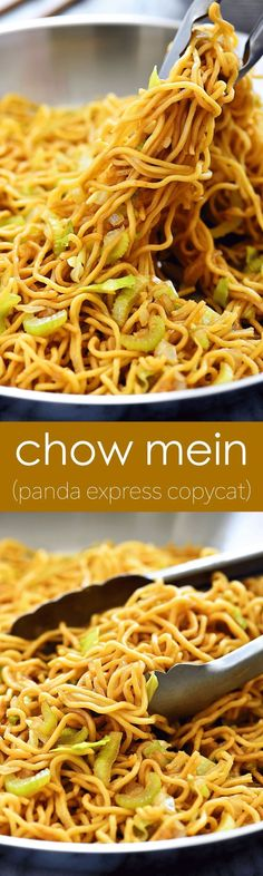 I'm just now realizing I've been on a copycat recipes streak lately. ha! I recently shared the McDonald's Shamrock Shake, IHOP Pancakes and today's copycat is Panda Express' Chow Mein! I have to say this one is my favorite. It tastes like the one from Panda Express but better! I tricked my kids when I... Read More »