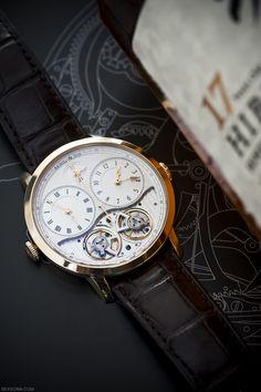 gentlementools:  Arnold & Son superb timepiece