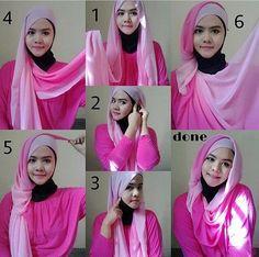 Gorgeous Twisted Hijab Tutorial