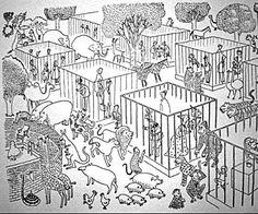 Imagine um universo paralelo onde os animais são as espécies dominantes, e eles tratam a raça humana da forma como nós os tratamos agora. É um pensamento muito assustador, não?
