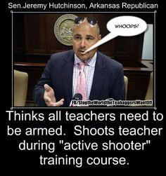 GREEDY CORRUPT REPUKES PLAN...ARM TEACHERS IS MORE IMPORTANT HAN HAVING UNIVERSAL BACKGROUND CHECKS!!