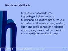 Missie rehabilitatie.
