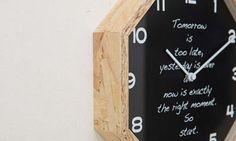 【楽天市場】電波時計 壁掛け時計【掛け時計 Balheary】八角形 Octagon掛け時計|ウォール クロック…