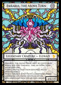 Emrakul, the Aeons Torn by Z's Proxy Factory