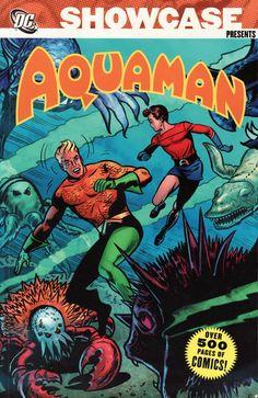 Showcase Presents Aquaman TPB DC Comics Book cover art super heroes villians DC) Dc Comic Books, Comic Book Covers, Comic Art, Dc Comics, Aquaman Comics, Mera Dc, Blood Brothers, Classic Cartoons, Book Cover Art