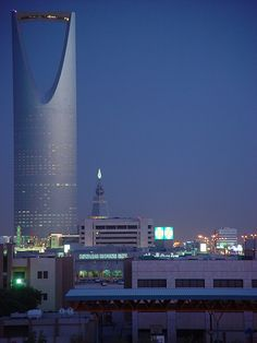 kingdom Tower, Ryadh , Saudi Arabia