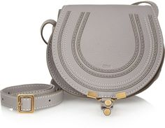 Chloé The Marcie mini textured-leather shoulder bag