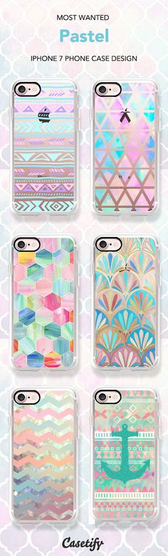 Most wanted Pastel Pattern iPhone 7 and iPhone 7 Plus case. Shop them all here >   https://www.casetify.com/artworks/SHXslSGwfr