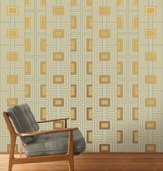 Look for our Frank Lloyd Wright wallpaper in the Fall '16 issue of Atomic Ranch! Featured: Rhythm in 3D.