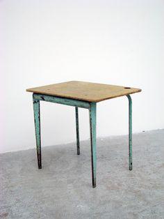 Child's desk, model no. 804, Manufactured by Les Ateliers Jean Prouvé, France, c.1952
