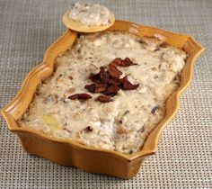 Bourbon-Spiked Caramelized Onion and Bacon Dip