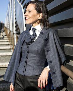 "sartoriahabitus: "" Memories of @pittimmagine Ph by: @eleonoraph thanks #habitus #tailoring #bespoke #bespokeservice #artisan #luxury #tailoring #menswear #menstyle #style #icon #dapper #rome #florence #pitti89 #women #womenswear #eleonoralauria..."