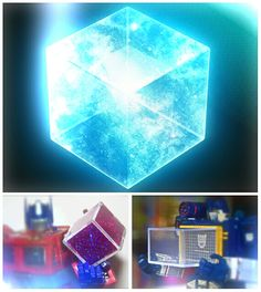 Transformers^3 (Transformers Cubed): If the #Tessersact's an #EnergonCube, it would transform #Marvel's world! #STEELYourMind #Energon
