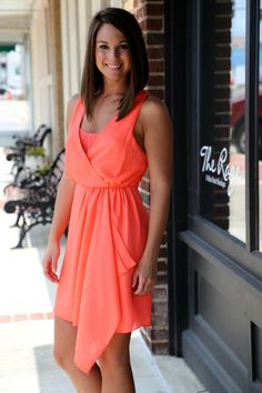 Dress for Success {Neon Coral}