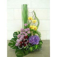 Congratulatory TableTop - E-Tree Home Florist & Plant Rental