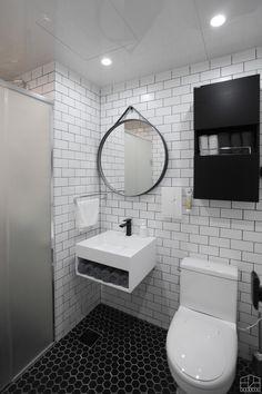 / Client want . 부부 + 1살, 3살 남아 . 전체적으로 심플하고 모던한 분위기 . 요리하거나 메이크업하는 ... Mirror, Interior Design, Architecture, Furniture, Bathrooms, Interiors, Studio, Home Decor, Design Interiors